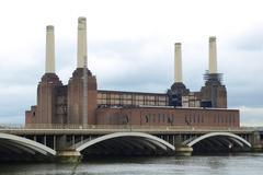 Battersea Powerstation, London - stock photo