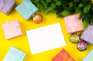 Festive concept for your message Stock Photos