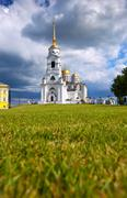 Dormition Cathedral in Vladimir Stock Photos