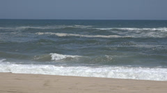 Shore, Sea Coast, Beach Shoreline, Natural Beauty Stock Footage