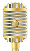 Kultainen mikrofoni Piirros