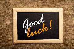 Good luck - stock photo