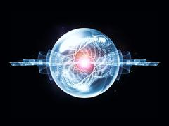 Cool Wave Particle Stock Illustration