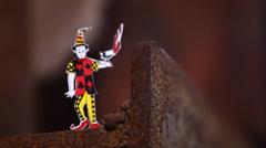 Joker art in Factory Arkistovideo