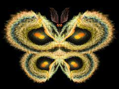 Stock Illustration of Butterfly Design