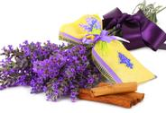 Stock Photo of Lavender scented sachets