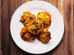 masala vada - stock photo