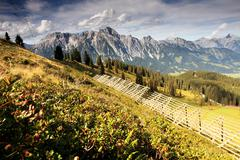 Leogang - stock photo