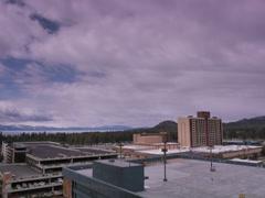 Horizon Casino Resort snow Stock Footage