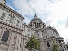 St Paul Cathedral, London Stock Photos