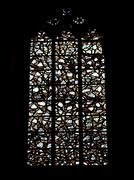 Stock Photo of Gothic cathedral glass