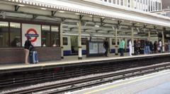 Kensington High Street Tube Station Stock Footage