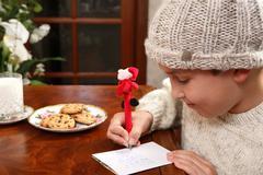 Christmas Wishlist - stock photo