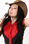 Singer, Host, Presenter - stock photo
