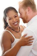 Inter racial relationships Stock Photos