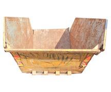 Dumper for debris Stock Photos