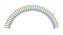 Rainbow - stock illustration