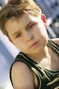 Athletic boy Stock Photos