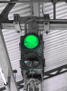 Green Light - stock photo