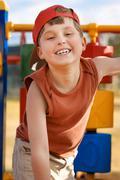 Child playground fun - stock photo