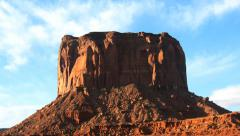 Timelapse Pan of Monument Valley Butte in Arizona / Utah Stock Footage