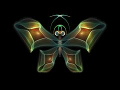Stock Illustration of Fractal Butterfly