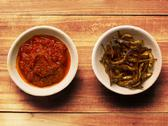 Stock Photo of fried anchovies and sambal chili