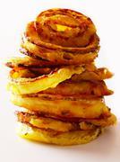 Onion rings Stock Photos