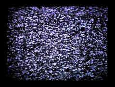 tv static - stock photo