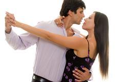 Pari tanssi Tango Kuvituskuvat