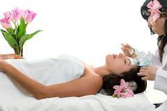 Skin Beauty Face Health - Esthetician Stock Photos