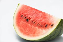 Watermelon on white background - stock photo