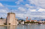 Stock Photo of trogir, croatia view