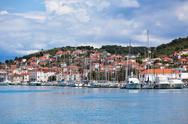 Stock Photo of trogir, croatia marina view