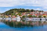 Stock Photo of skradin is a small historic town in croatia