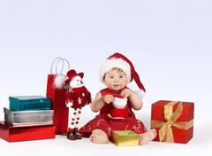 Christmas Wonderland Stock Photos
