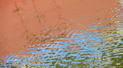 Abstract Water Reflections 19 - stock footage