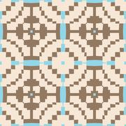 West African Pattern Stock Illustration