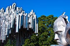 Sibelius monument - stock photo