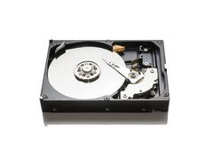 hdd - stock photo