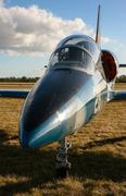 Albatros jet aircraft - stock photo