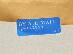 Stock Photo of Airmail picture