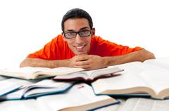 Stock Photo of Education concept with student