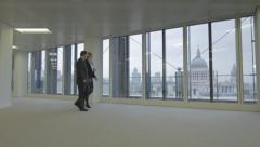 Real/Estate Agent Showing Office Stock Footage