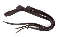 black laces - stock photo