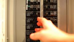 Fuse Box 03 HD Stock Footage
