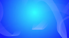 Blue Curves Abstraction Stock Footage