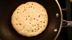Pancake Flip 01 HD - stock footage