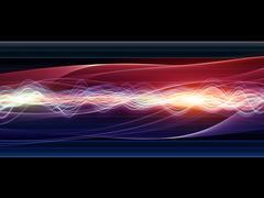 Abstract Wave Analyzer - stock illustration