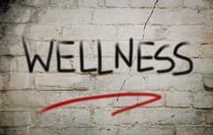 Stock Illustration of wellness concept